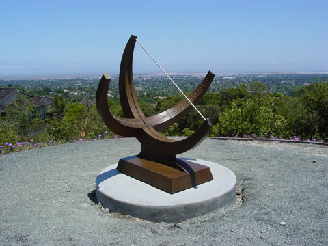 Image of a large bronze sculpture.